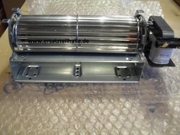 Querstromgebläse Ventilator für Kühlschrank, Gefrierschrank, Nachtspeicher, Motor rechts