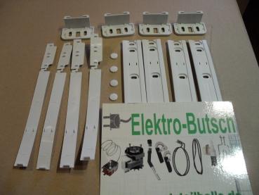 Schlepptür-Set für integrierte Kühl-Gefrierschränke. 481231019131