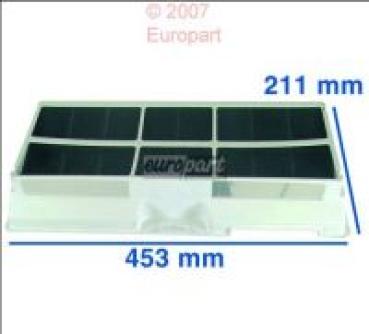 bu936 Universal Aktivkohlefilter rund 17,4cm